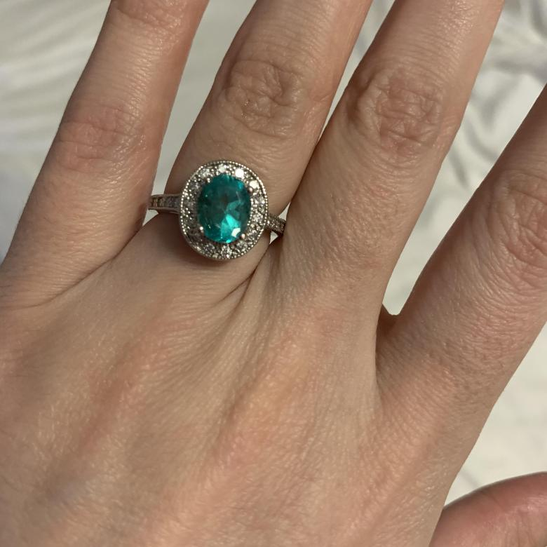 Stunning Emerald Statement/Engagement Ring