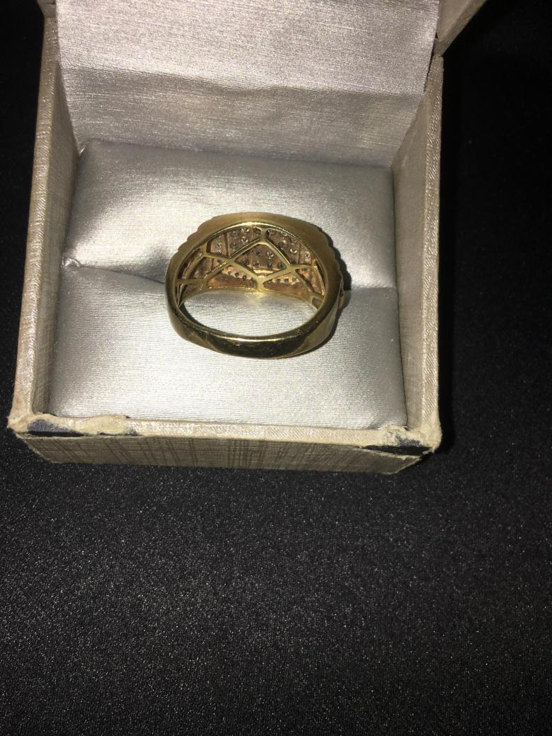 10K Gold Square Ring