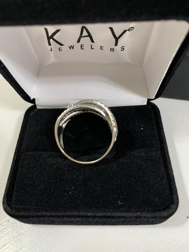 Diamond Layer Ring