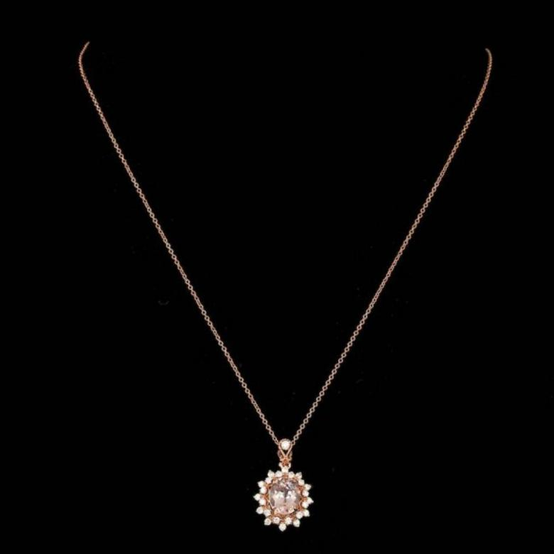 Exquisite Diamond and Morganite