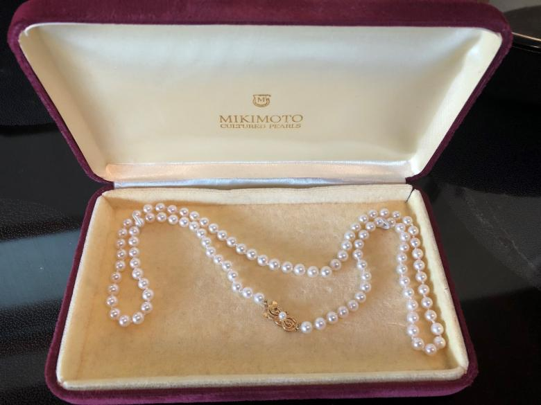 Mikimoto Pearl Necklace in