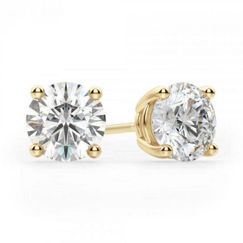 Solid 14K Gold 2CT