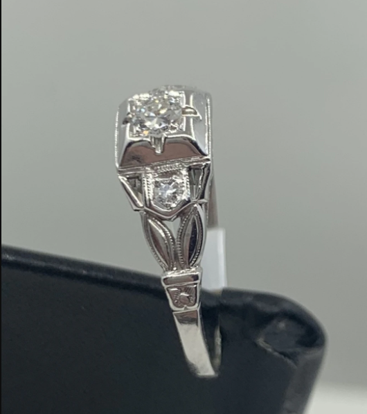 1930S Vintage Engagement Ring