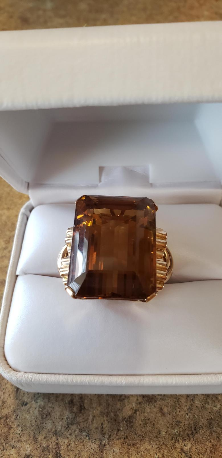 Extremely Large Golden Citrine