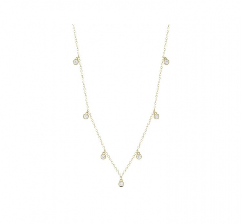 14Kt yellow gold dangly