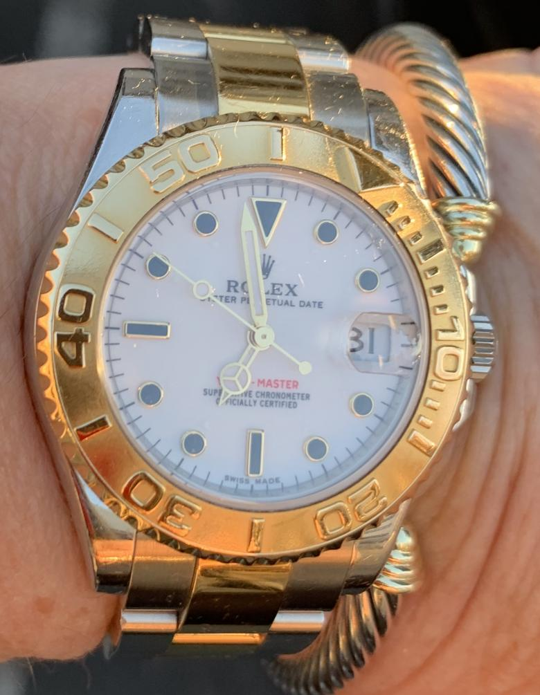 Women's yachtsmen Rolex watch
