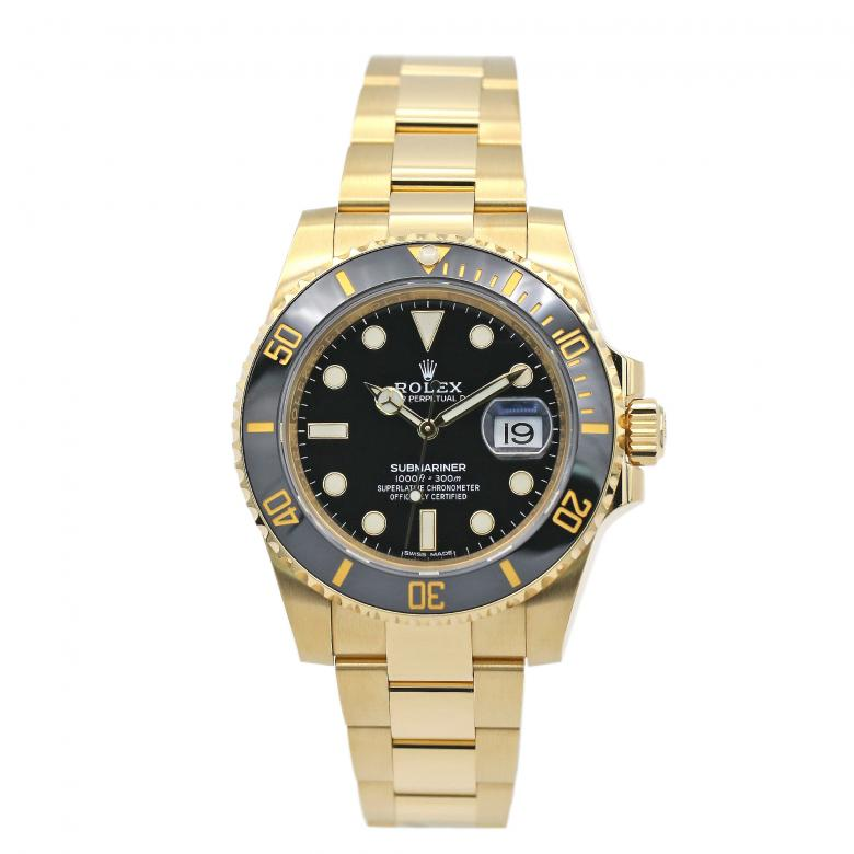 Submariner Date 40mm 18k