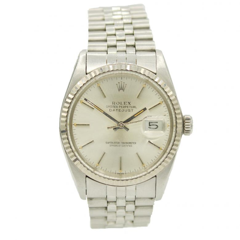 Mens' Rolex Datejust Stainless