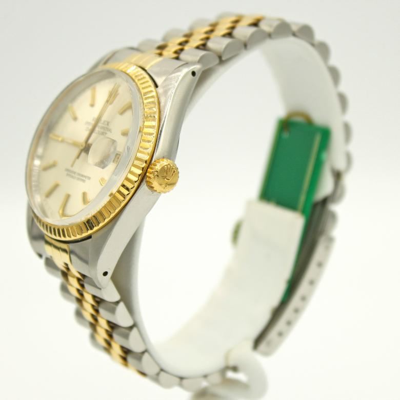Rolex Datejust Two Tone