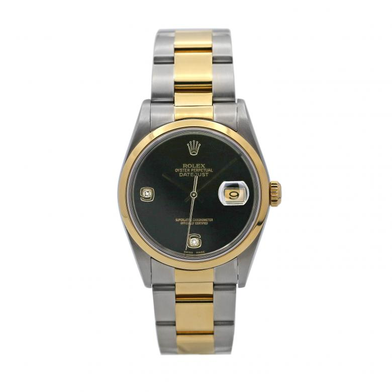 Rolex Datejust Two-Tone w/