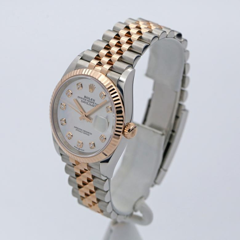 Unworn Rolex Datejust Two