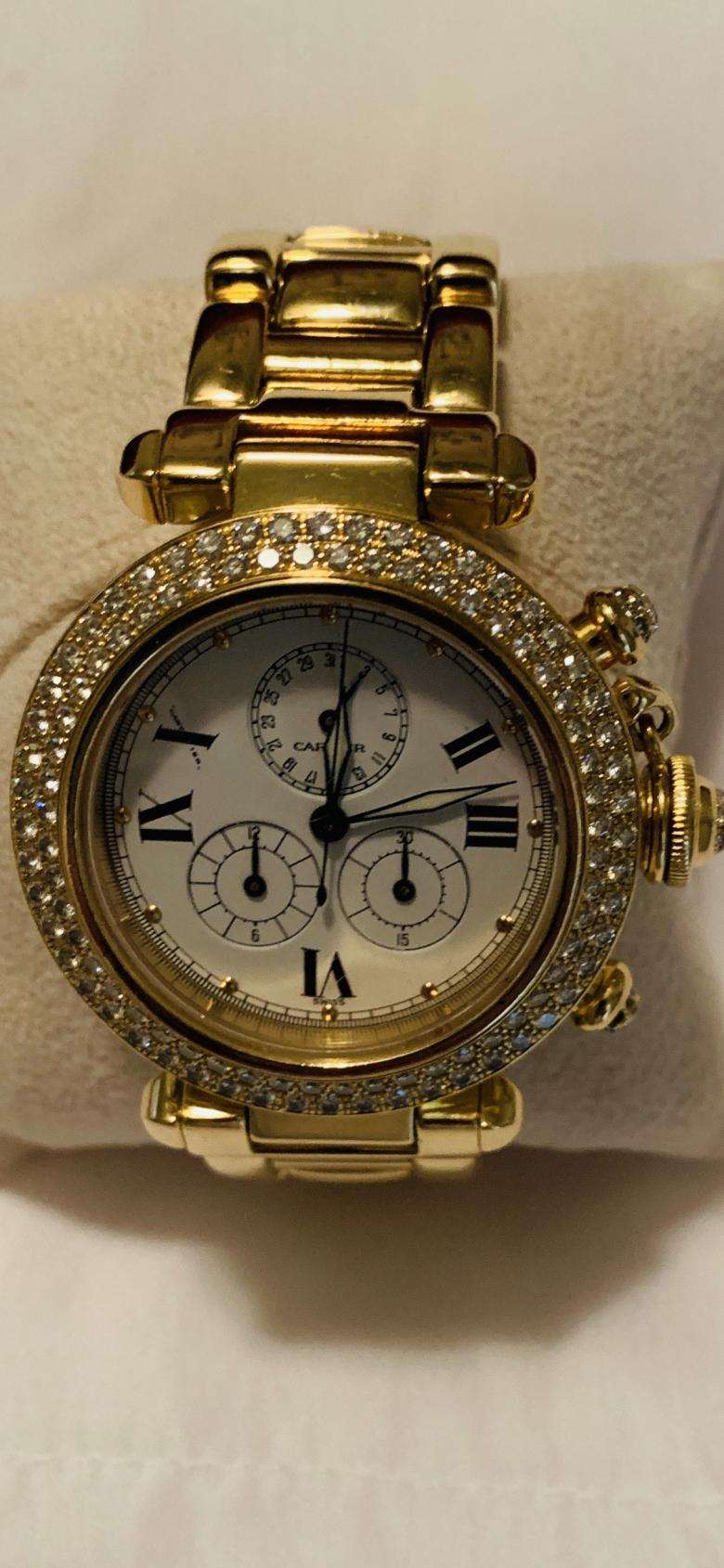 Cartier Lady's 18K gold