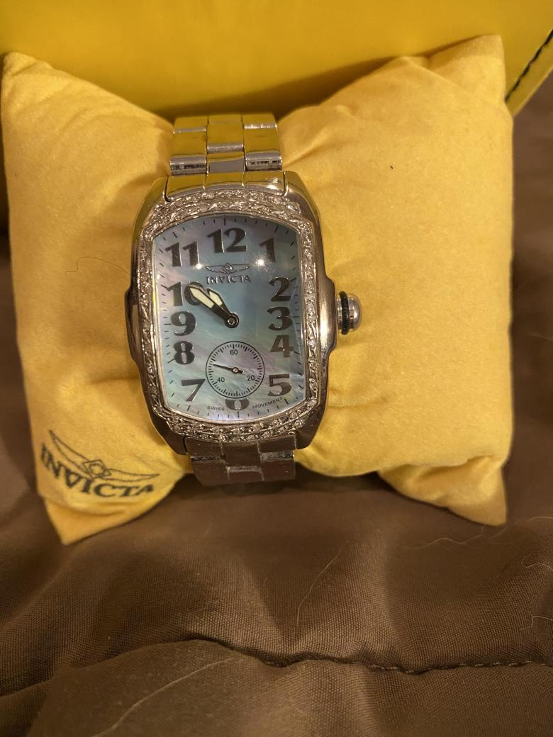 Invicta Mother of Pearl