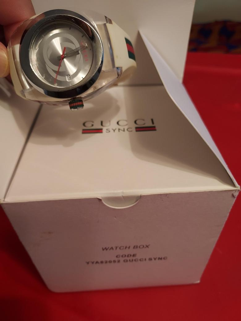 Real mens Gucci watch