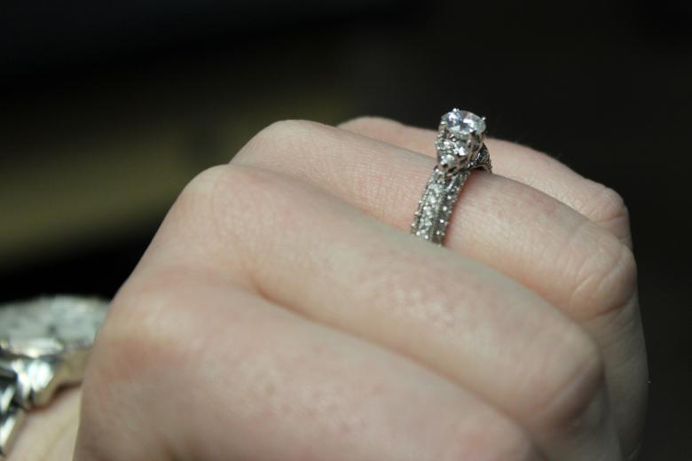 zales 1 5 ctw white gold engagement or wedding