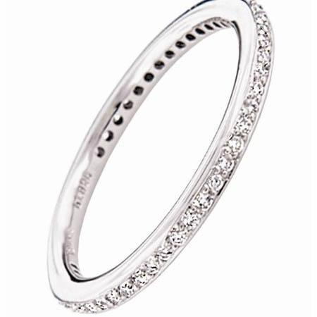 You Are Here Home Ritani Endless Love Platinum And Diamond Eternity Wedding Band