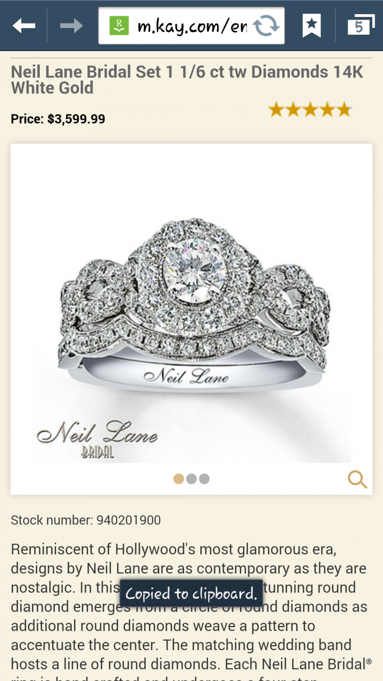 Neil lane 1 16 ct tw wedding set 14k white gold i do now i dont neil lane 1 16 ct tw wedding set 14k white gold junglespirit Choice Image