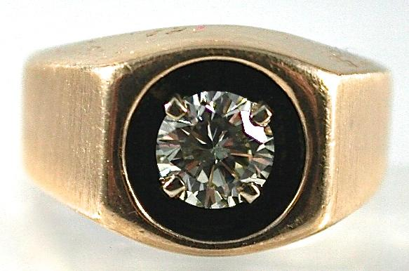 Gents 14K Yellow Gold