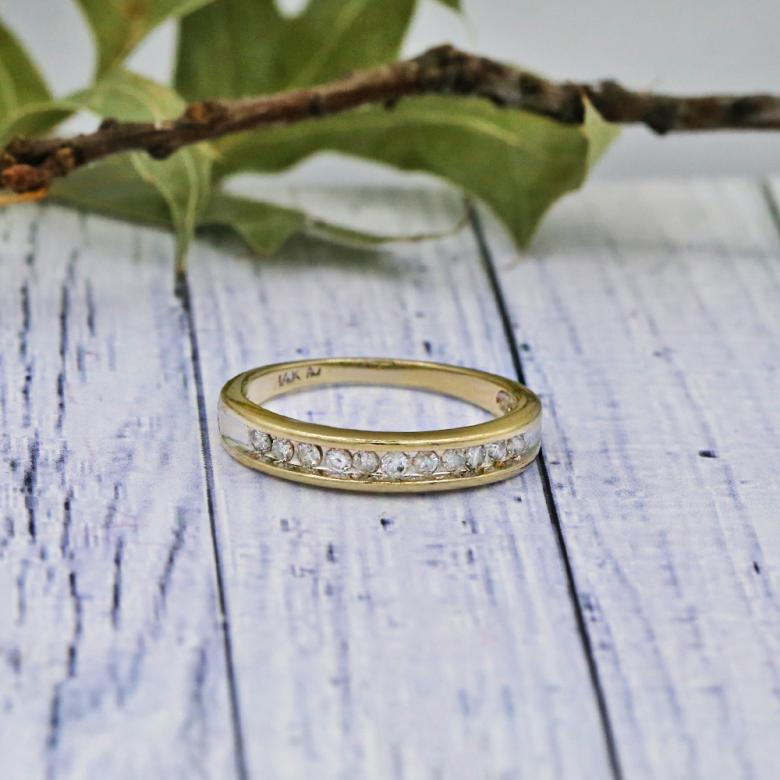 Handmade Yellow Gold Wedding