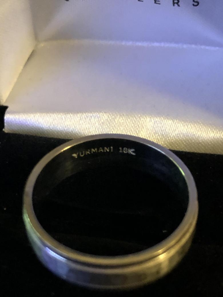 Yurmani 18k White Gold