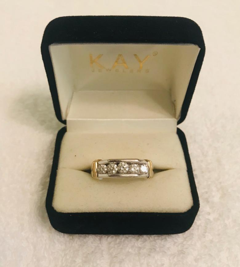 Kay Jewelers Men's wedding