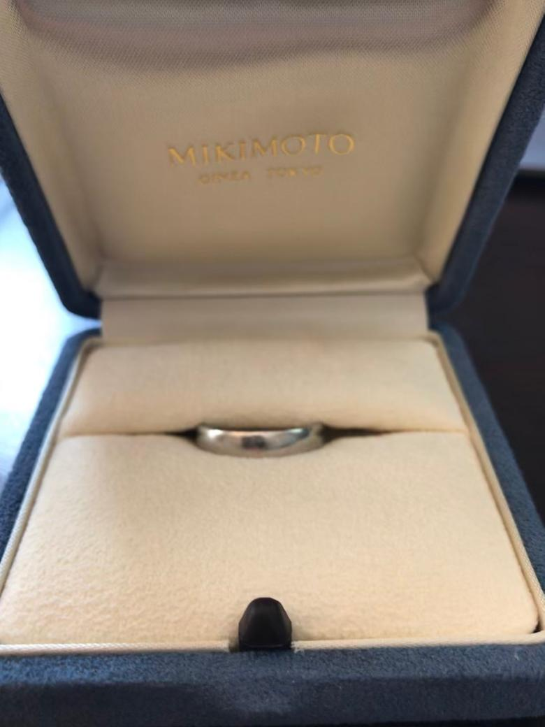 Mikimoto Men's Platinum Wedding