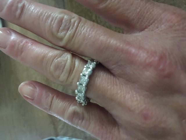 Princess Cut Diamond Eternity