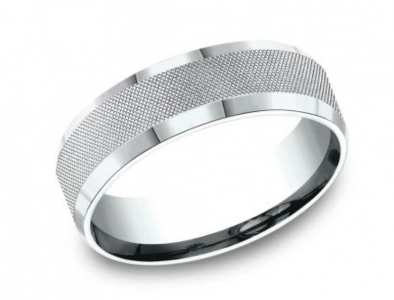 Men's Benchmark Wedding Band,