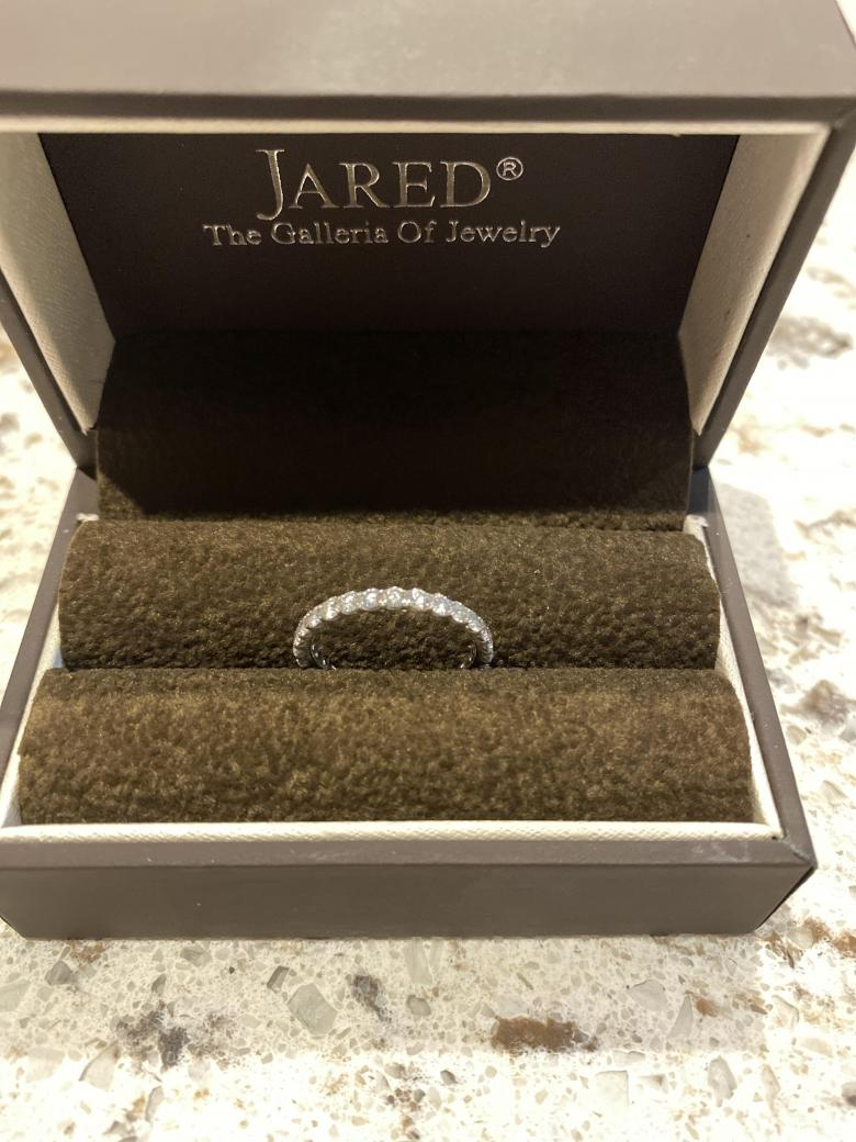 Jared 1ct eternity band