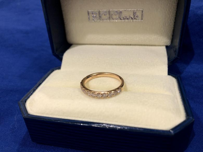 18K Rose Gold Band