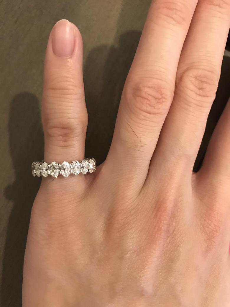 14k Solid White Gold