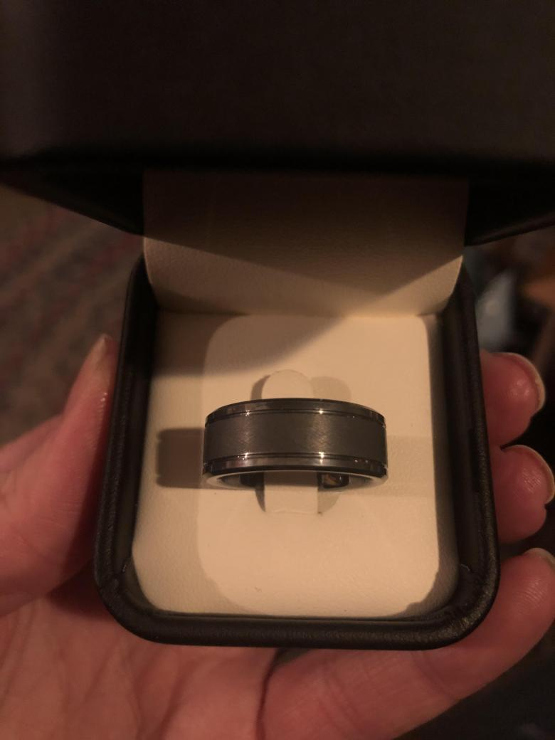 Men's Tungsten Carbide Wedding