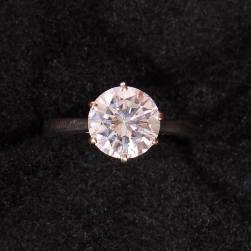 BRILLIANT ROUND DIAMOND RING...a