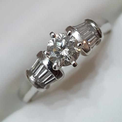 Platinum Engagement/Cocktail Ring