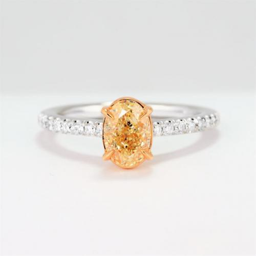 1.44 carat Fancy Yellow