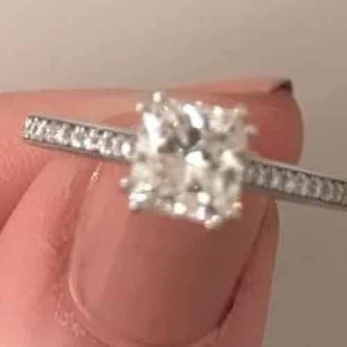 Incredibly Elegant 1.01 CT
