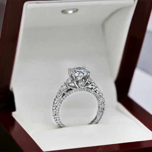 Certified 18k White Gold