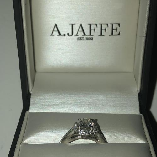 A. Jaffe Diamond Engagement