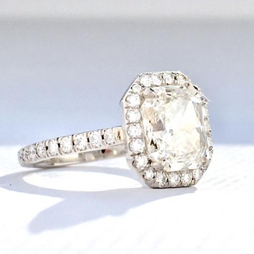 Certified 2.26ct Radiant Diamond