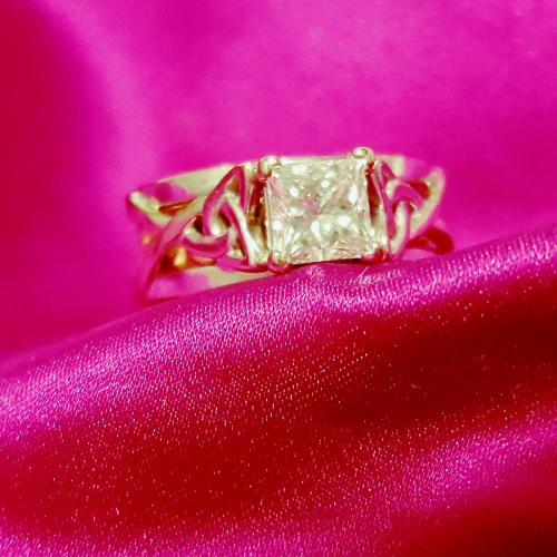 Beautiful 1.01 CT Princess
