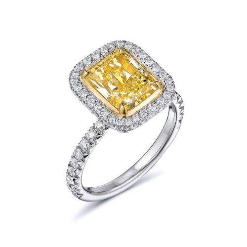 2.67 Carat Fancy Yellow