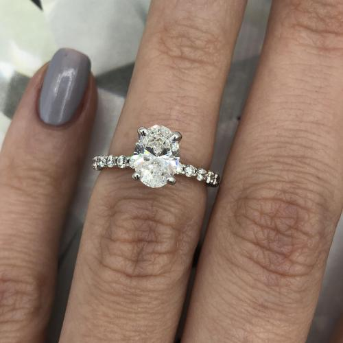 GIA certified fantastic Engagement