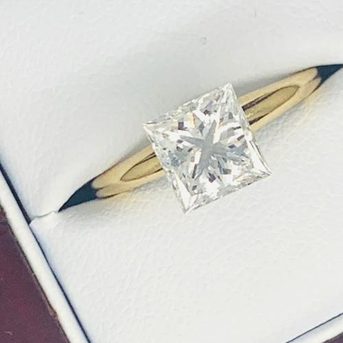 2.15 ct Princess Cut