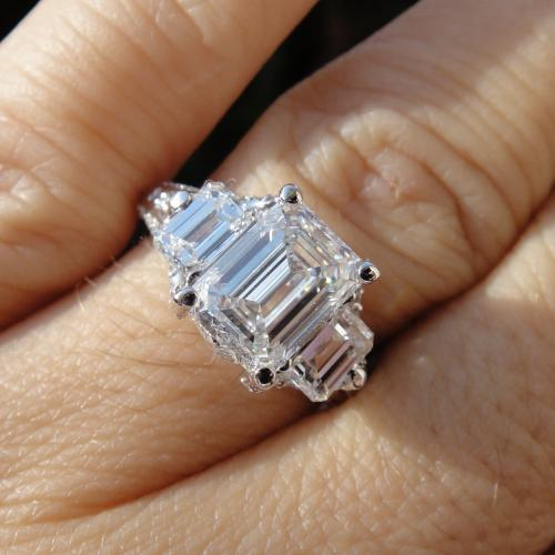 3.50 Emerald cut masterpiece