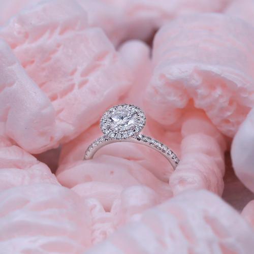 Engagement Ring with 1.46