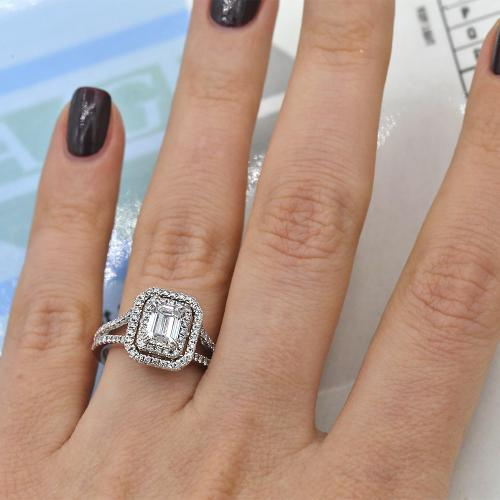 Emerald Cut Diamond Engagement
