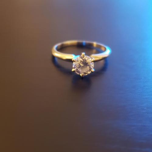 Round Brilliant Solitaire Ring