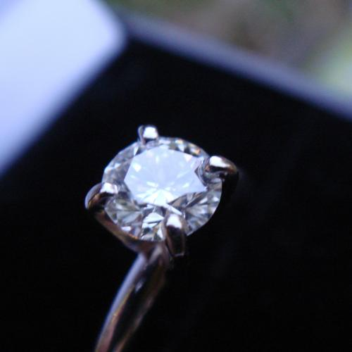 Round Brilliant Diamond Solitaire,