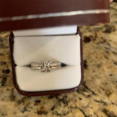 Tacori Platinum Engagement Ring
