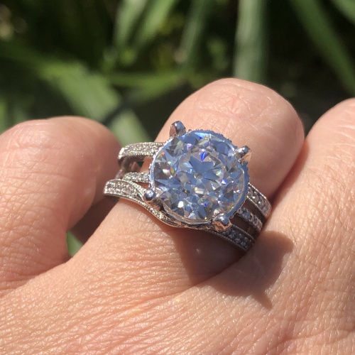 5.50 Platinum Custom Solitaire